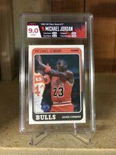 1988-89 Fleer Michael Jordan #17 HGA Mint 9.0 POP 1 graded 9