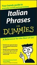 Italian Phrases For Dummies by , Good Book