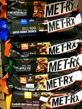 40 MET-RX BIG 100 MEAL REPLACEMENT BAR NUTRITION PROTEIN BARS 2020 BBD FREE S/H!
