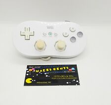 OEM Nintendo Wii Classic Controller Gamepad RVL-005 White Official Genuine