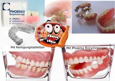 Enzymreiniger Zahnprothese, Zahnersatz, Geruchsentferner, Gebissreiniger
