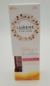LUMENE [  VALO ]  NORDIC -C Artic Berry   HYDRA -OIL - COCKTAIL - 1 fl oz New