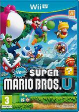 New Super Mario Bros. u nintendo wii u juego aventura juego WiiU alemán nuevo embalaje original