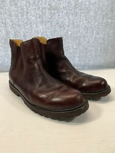 Men's Orvis Cromwell Leather Chelsea Riding Boots Brown Size 13 M