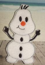 Handmade Finger Puppets - Olaf from Frozen - Disney Snowman