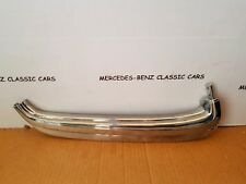 MERCEDES W114 COUPE CHROME WINDOW TRIM RIGHT SIDE DOOR