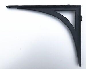 Cast Iron Ornate Shelf Bracket 24.5cm x19.5cm in 3 colours (no.149)