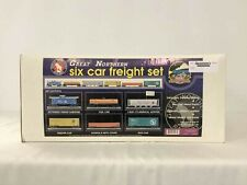 MTH 20-90028 Great Northern O Gauge 6-Car Freight Set