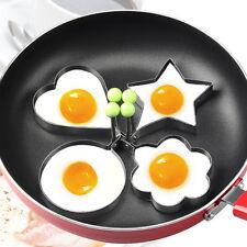 De acero inoxidable Anillo de molde para cocinar panqueques de huevo frito O7
