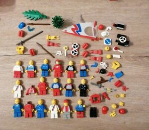 Lot LEGO LEGOLAND 6080 espace arme chevalier train pirate
