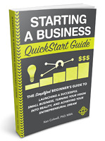 USED - Starting a Business QuickStart Guide: Simplified Small Business Book