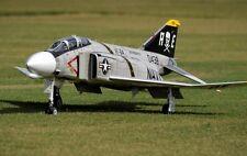 "1/12 Scale F-4 Phantom 46"" WS scratch build R/c Plane Plans & Patterns"