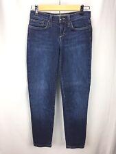 Joe's Jeans Sz 25 Kennedy Cigarette Fit Skinny Ankle Length Blue Denim Med Dark