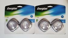 Energizer Tap LED Lights. Wireless. 2 Pack, 2 Sets. Uses 3AAA Batteries, Not Inc