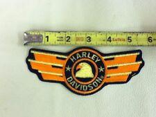 Harley Davidson Embroidered Patch - Vintage Old Stock   Harley Davidson Eagle