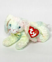 TY Original Beanie Babies Cottonball the Bunny Rabbit W Protected Tag, 2001
