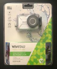 Vivitar HD Action Cam DVR783HD Waterproof Camera 5 MP Case Bike Helmet Mounts Go