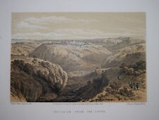 ISRAEL - JERUSALEM FROM THE SOUTH BY DAVID ROBERTS, 1874.