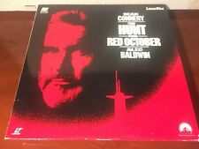 Laserdisc THE HUNT FOR RED OCTOBER 1990 Sean Connery LD