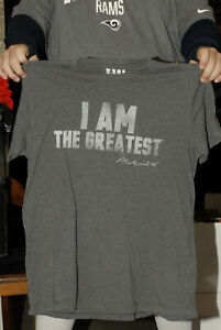 Muhammed Ali I am the Greatest T shirt Xl Ali official Boxing Civil rights hero