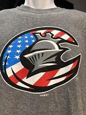 Charlotte North Carolina Knights New Minor League Baseball Gray Medium T-Shirt