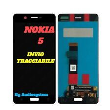 P1 DISPLAY LCD+TOUCH SCREEN NOKIA per 5, N5 TA-1024 TA-1027 1044 1054 NERO VETRO