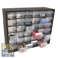 Raaco 126595 P36 36 drawer cabinet storage unit free standing or wall mounted