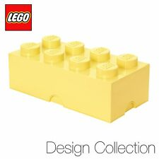 Lego ® Grand Stockage Brique (8 Rivets) - LIMITED ED Design Collection-Cool Jaune
