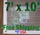 7' x 10'  Clear Poly Tarp Room Divider Patio Porch Enclosure Fumigation Curtain