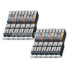 30+ PACK PGI-220 CLI-221 Ink Tank for Canon Printer Pixma iP3600 iP4600 NEW