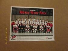 Ahl Albany River Rats Vintage Defunct Circa 2001-2002 Logo Hockey Team Photo
