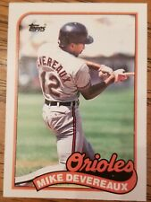 Mike Devereaux  1989 Topps  Traded  baseball card. #23T Mint