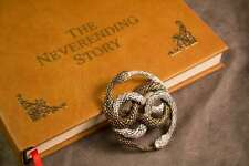 Large Bronze Auryn - Gold and Silver Two Tone Replica from The Neverending Story