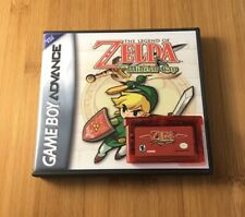 Legend of Zelda: The Minish Cap w/New Custom Case - Nintendo Game Boy-US Seller!