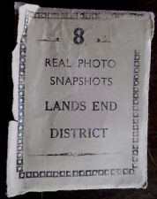 Vintage, Photographs of Lands End Cornwall, Set of 8 Photos, from the 1950s-60s