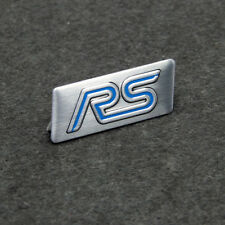 New Aluminium Car Auto Styling Decor Decal Badge Emblem Logo Fits for Ford RS