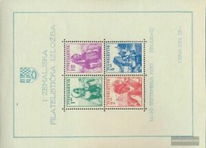 Yugoslavia block1 (complete issue) unmounted mint / never hinged 1937 Philately