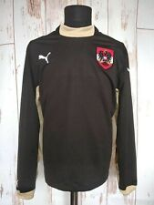 Austria National Football Team Puma Long Sleeve Shirt Soccer Sweatshirt Sz L