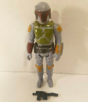1979 Star Wars BOBA FETT Figure Complete Vintage W/ Original Weapon RARE TAIWAN