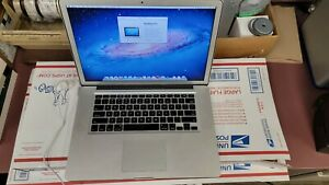 Apple MacBook Pro 15-inch Early 2011 - i7 120GB SSD - Intel Graphics -No Reserve