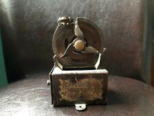 "ANTIQUE table pencil sharpener metal-iron antique 1920's AS PARTS ""AUTOMATIC P.."