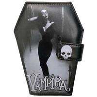 Kreepsville 666 Vampira Mist Gothic Punk Horror Occult Spooky Coffin Wallet WCVM