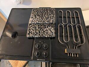 Jenn-Air CVE4270B Black Electric Glass Cooktop Downdraft, Grill, Griddle, Fryer