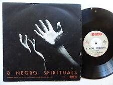 """25 cms 10"""" Ensemble vocal Arc en Ciel Dir GEORGES AUBANEL 8 negro spirituals DMO"""