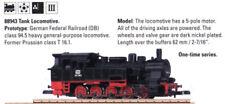 Marklin Z Mohi Nos 88943 2008 Db Class 94.5 Steam Tank Locomotive