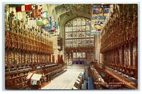 Picture Postcard The Choir St Georges Chapel Windsor