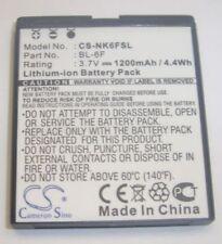 Batteries pour téléphone mobile et assistant personnel (PDA) Nokia pour 1201 - 1800 mAh