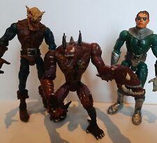 Marvel ToyBiz Deep Sea Venom, Hobgoblin & Doc Ock 1997-2005 vintage figures set