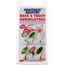 Panther Martin BA6 Spinner Kit, #6 1/4 oz, Assorted, 6/Pack