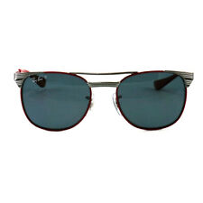 Ray Ban Jr Sunglasses RJ9540S 218/2V Red/Silver 47 17 130
